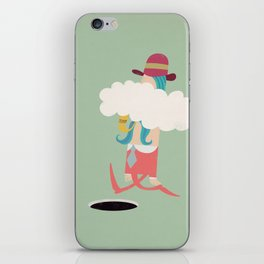Seriously, smoking can kill you!!! iPhone Skin