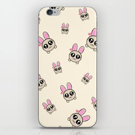 Cutesy Bunny iPhone Skin