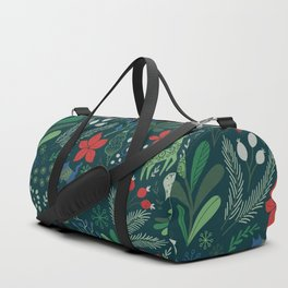 Merry Christmas pattern Duffle Bag