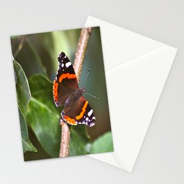 Admiral On The Apple Tree Branch #decor #society6 Stationery Cards