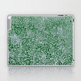 green floral Laptop & iPad Skin