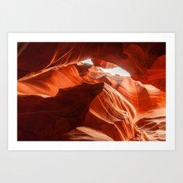 Antelope Canyon, Howling Wolf Art Print