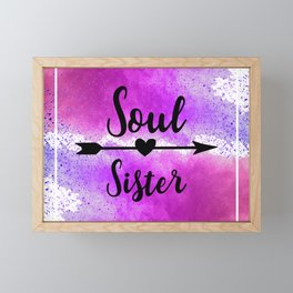 Soul Sister Framed Mini Art Print