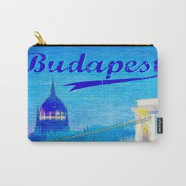 Budapest, light blue Carry-All Pouch