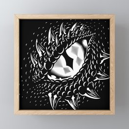 Dragon Eye  Framed Mini Art Print