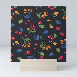 Wild berry Mini Art Print