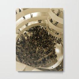 A Pointillist's View of Manhattan Metal Print