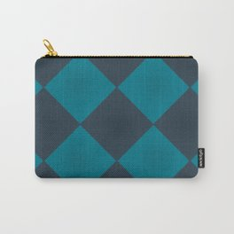 Patchwork Blues | Cozy art | Blue Pattern | Cozy Witch Carry-All Pouch