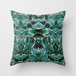 50 Shades of Green (8) Throw Pillow