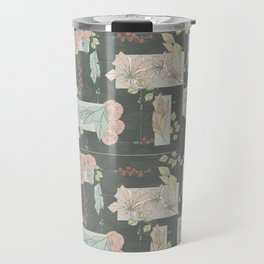 Flower Fracas Travel Mug