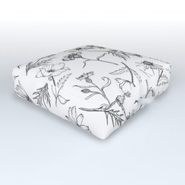 Full Bloom Outdoor Floor Cushion