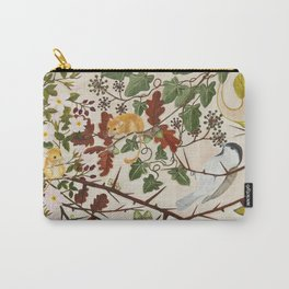 Marsh Tit and Field Mice Carry-All Pouch