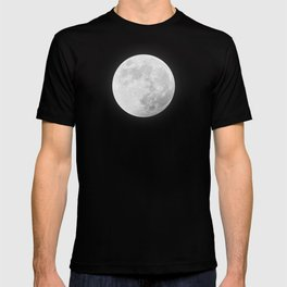 CHALK WHITE MOON T-shirt