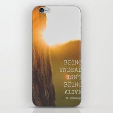 ee cummings - sunset. iPhone & iPod Skin