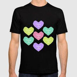 Feminist heart T-shirt