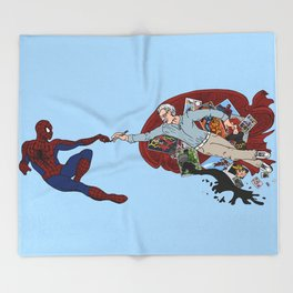 Stan The Creator  Throw Blanket