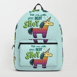 Hit me with your best shot! Backpack