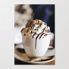 Delicious Latte Canvas Print