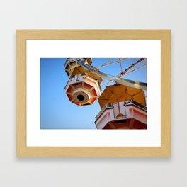 state fair ferris wheel Framed Art Print