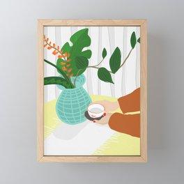 Morning Tea Framed Mini Art Print