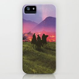Three Riders iPhone Case
