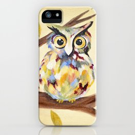 Rosie the Owl iPhone Case