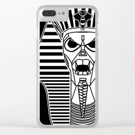 Tutting, Inc. - Pharaohtron Clear iPhone Case