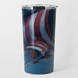 Shark in a Shirt Travel Mug