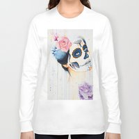 day of the dead Long Sleeve T-shirts featuring Day of the Dead by Beth Michele