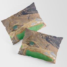 Mount Tongariro, New Zealand Travel Artwork Pillow Sham