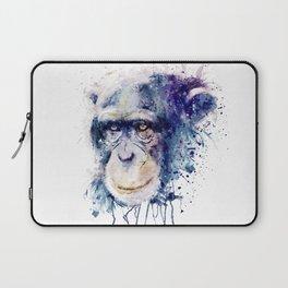 Watercolor Chimpanzee Laptop Sleeve