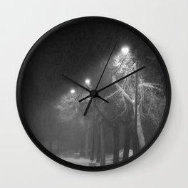 Hushed Wall Clock