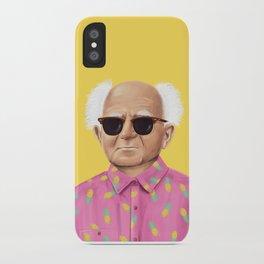 The Israeli Hipster leaders - David Ben Gurion iPhone Case