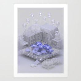 Helium Slumber Party Art Print