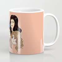 fifth harmony Mugs featuring Fifth Harmony by SurpriseMila
