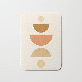 Abstraction_Geometric_Shape_Moon_Sun_Minimalism_001D Bath Mat