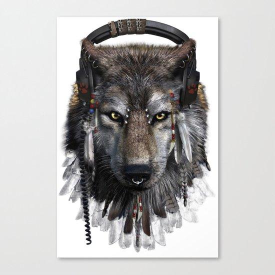 Wolf Pattern Canvas Print