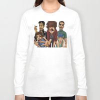 cargline Long Sleeve T-shirts featuring Gorillaz 1D by cargline