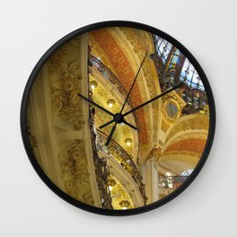 Paris department store Wall Clock