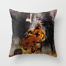 The fallen ones Throw Pillow