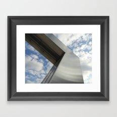 Art and Sky Framed Art Print