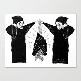 HANG BAT Canvas Print