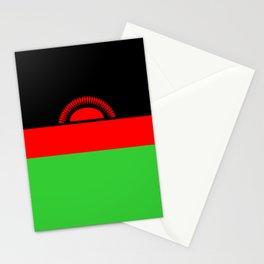 Malawi country flag Stationery Cards