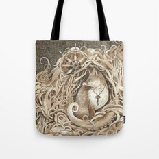 The Fox and the Sea Tote Bag