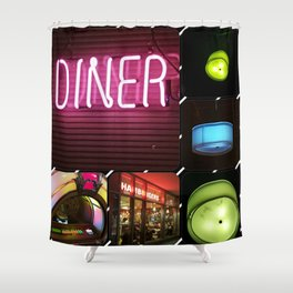 Diner Shower Curtain