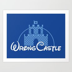 Wrong Castle Art Print