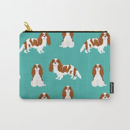 Cavalier King Charles Spaniel blenheim coat dog breed spaniels pet lover gifts Carry-All Pouch