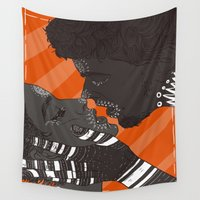 games Wall Tapestries featuring Love games by Ifauxpas