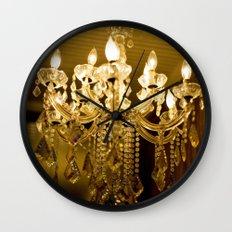 golden light::charleston Wall Clock
