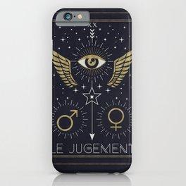 Le Jugement or The Judgement Tarot iPhone Case